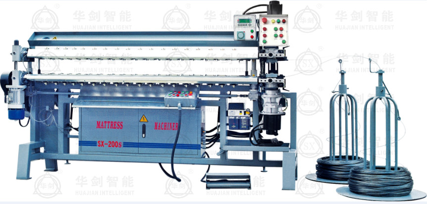 SX-200s AUTOMATIC SPRING ASSEMBLING MACHINE